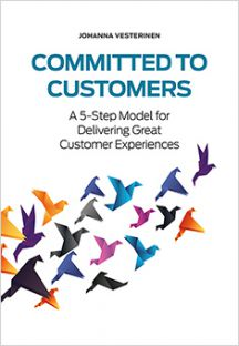Johanna Vesterinen: Committed to customers (Suomen Liikekirjat 2014)
