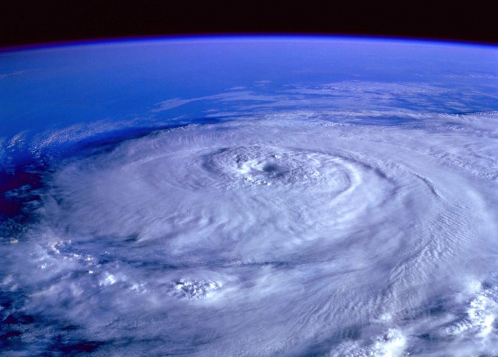 myrsky avaruudesta